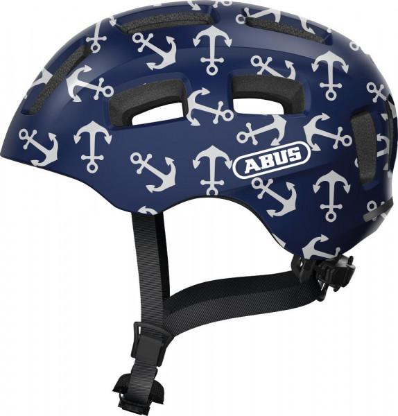 Abus Fahrradhelm Youn-I 2.0 Blue Anchor